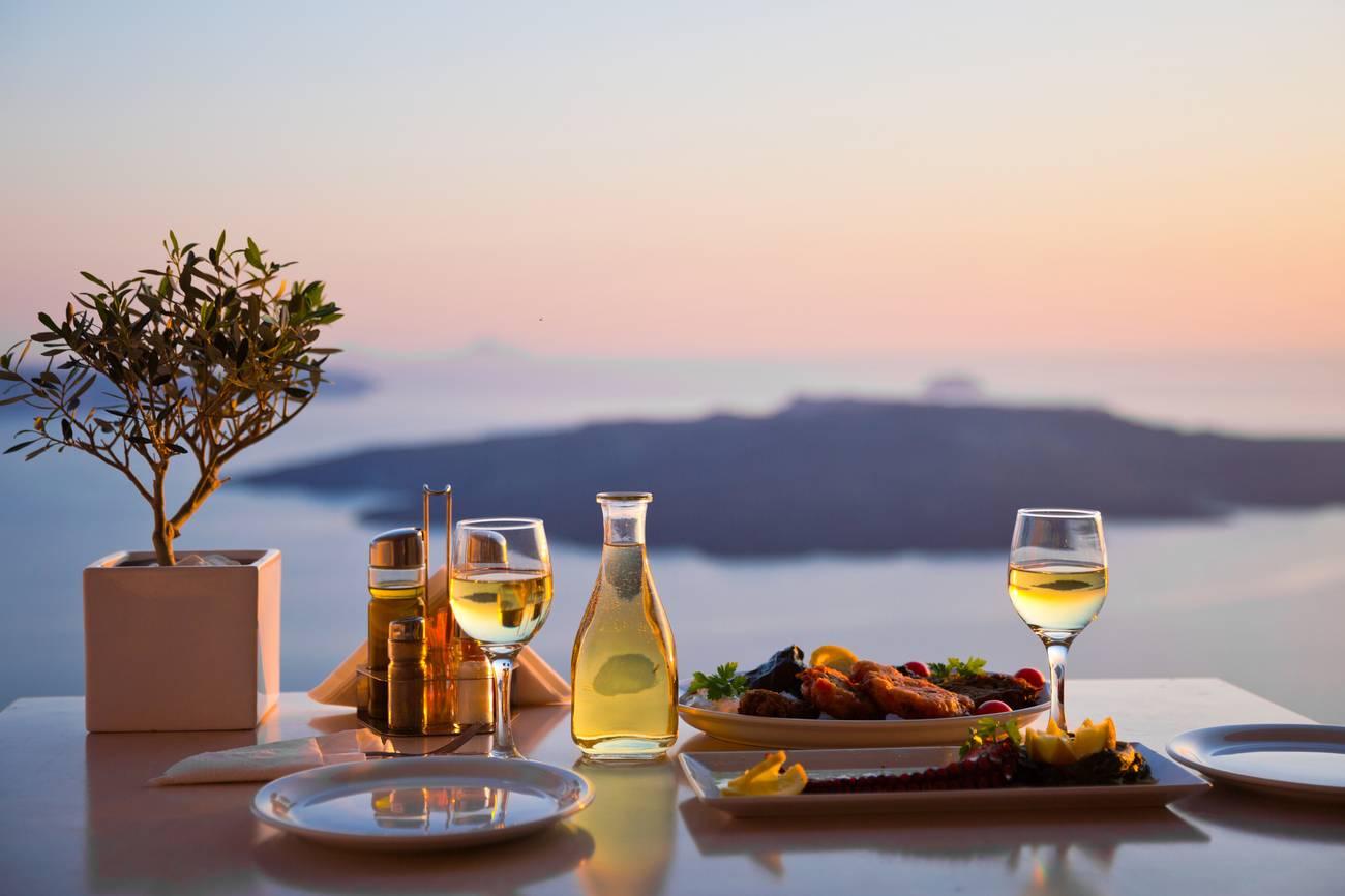 Wijn van Santorini